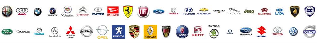Značky aut pro technickou kontrolu