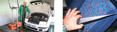 Celková kontrola stavu vozidla